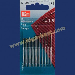 Prym 121296 Sewing needles long no. 1-5