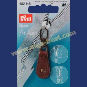 Prym 482145 Fashion Zipper leather