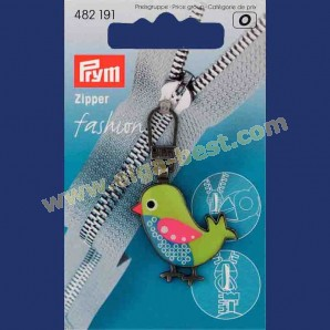 Prym 482191 Zipper bird