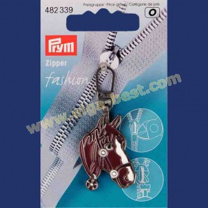 Prym 482339 Fashion Zipper horse's head