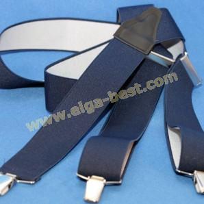 Mens Suspenders 3 - clips uni colours