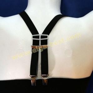 Children's suspenders 4-clip uni colours