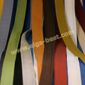 Pleating tape flat cotton advancing colors