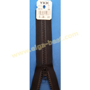 YKK Self service delrin synthetic 6mm - open end