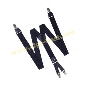 6B04 Suspenders extra heavy - double clips - 3,5 cm