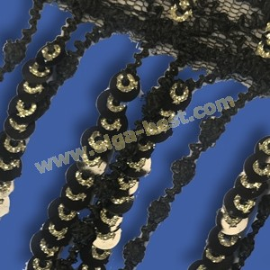 126600.000 Fring with Sequin 80mm