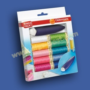 Gütermann set cotton + Chalk wheel