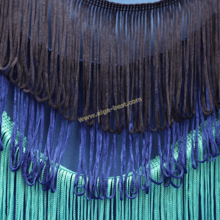 Fringe loop uni colours
