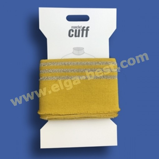 5 Cuffs Borde  Lurex 135cmx7cm