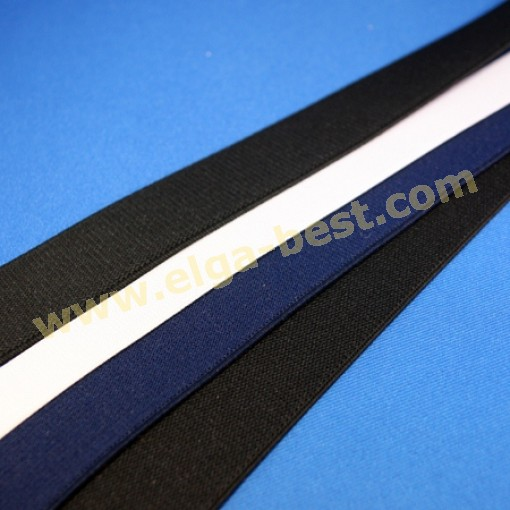 Hosenträger Elastik uni-Farben 18mm und 25mm