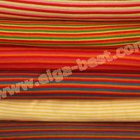 Borde baumwolle - elastomeer gestreift