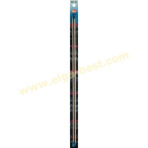 Prym 171307 Stricknadeln aluminium 40cmx3,00mm