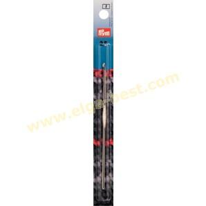 Prym 175838 Häkelnadeln Stahl mit Führungsfläche 2,50mm