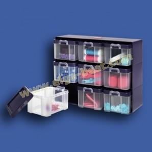 Prym 612399 Sortierkasten mit 9 Boxen