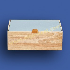 Prym 612576 Kasten Holz blau