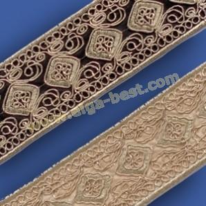 981125-45mm Tape Metallic Gold 9,1m