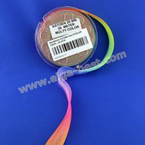 Schrägband baumwolle multicolor