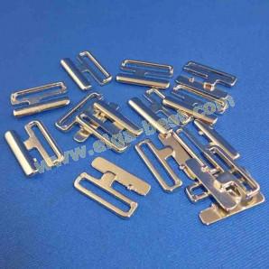 Bikiniverschluss Metal nickelfrei