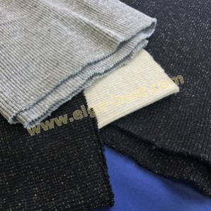 Borde jumbo Lurex 98% Dralon / 2 % Polyester