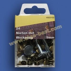 Nieten 9 mm