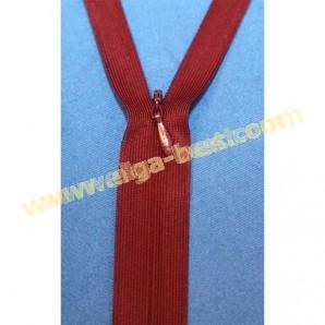 Markenlose Reißverschluss Type 3 Verdeckt - nicht teilbar