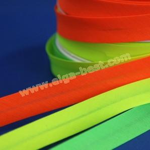 Schrägband baumwolle neon farbe