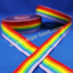 Gros Grain rainbow
