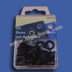 Ringe und Augen rostfrei alte kupfer 8mm